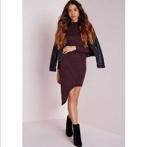 Missguided | Asymmetrical Roll Hem Dress | 0